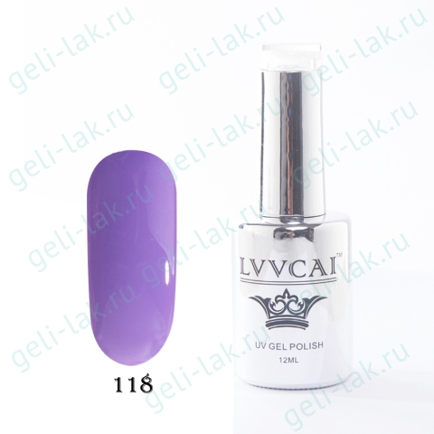 LVVCAI GEL POLISH 12МЛ цвет 118