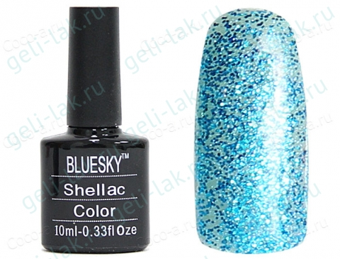 Shellac BLUESKY LZ цвет 1