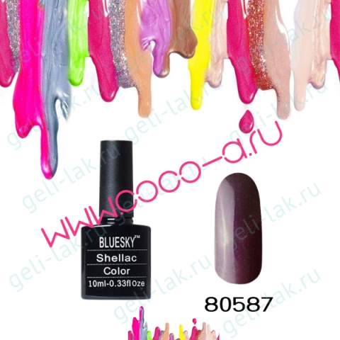 Shellac BLUESKY 80501-80587 цвет 80587