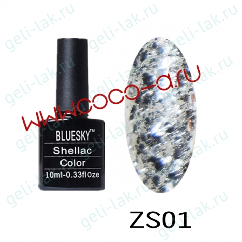 Shellac BLUESKY серия ZS цвет 1
