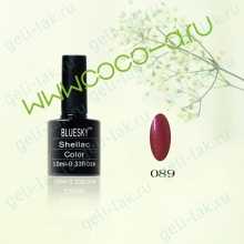 Shellac BLUESKY Color  цвет 089#