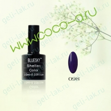 Shellac BLUESKY Color  цвет 098#