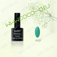 Shellac BLUESKY Color цвет 117